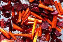 Pieczone warzywa z kozim serem / http://madzik-gotuje.blogspot.com/2014/11/pieczone-warzywa-z-kozim-serem.html