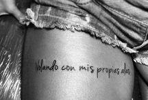 Frases se tatuaje