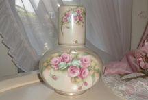 carafe roses