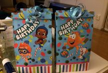 Bubble guppies birthday party ideas / As I found it very hard to be able to get all that you want to create bubble guppies birthday theme which my one year old son is fascinated by I had to try to create that theme by myself
