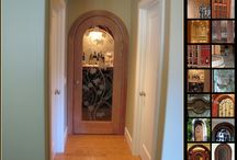 Great Selection of Custom Wine Cellar Doors / Coastal Custom Wine Cellars also offers custom wine cellar doors which have unique designs and are made of various materials such as wood, glass, wrought iron or a combination of these.