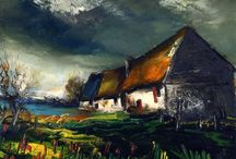 Maurice de Vlaminck / Maurice de Vlaminck, French painter (1876 - 1958)