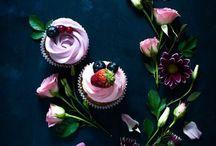 お花とお菓子