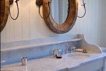 Master Bath redo / by Veronica Netzer