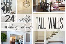 tall wall decor ideas