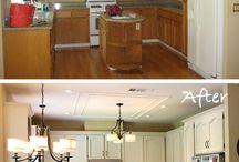 Kitchen Makeover. / by Celina Chamberlain