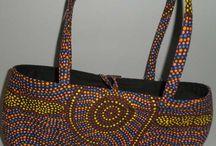 Aboriginal design Handbags / kullilla@dreamtime.auz.net for Order/Enquiry