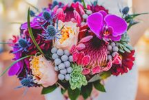 Mountain Style Wedding Flowers / Get inspired for your Colorado wedding with these stunning wedding bouquet ideas! We specialize in small weddings and elopements in Durango, Colorado.