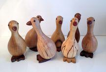 legno animali
