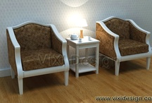 Chairs / Chairs for dining room, living room, office, terrace, and garden.