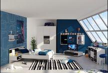 A cool bedroom