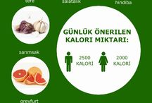 kalorili yiyecekler