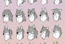 Furry heads / Furry heads