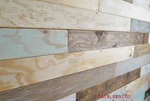 Wood stains paints and treatments / by Amanda Weiland