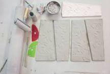 Keramik /skabeloner