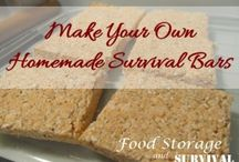 Using Food Storage / Recipes, tips, and ideas for rotating and eating your food storage! / by Food Storage and Survival