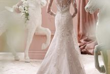 Wedding Dresses with Beautiful Back / Wedding Gowns with Lace, Illusion, Beaded, or Low Back