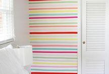 Decoração - paredes coloridas