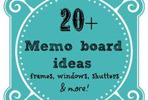 Memo Boards for Kitchen