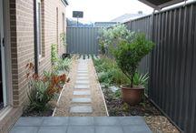 House side path