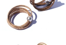Cork Jewellery / Unique jewellery made from cork and zamaz