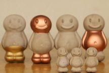Concrete Jelly babies Retro Concrete Gift - Girt for Him-Desk accessory