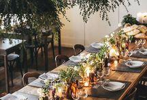 Hochzeit Tablesetting