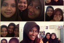 my friends / always happy with my friends :)