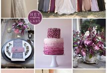 Plum wedding