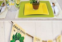 Farmers market theme party