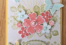 Petit Petals / Stempelset Stampin' Up
