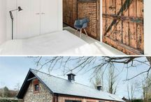 House Building / Inspiration for rural retreat in oak, steel & larch