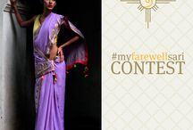 MyFarewellSari / Ekaya #MyFarewellSari Contest At Ekaya we celebrate glorious shades and different ways of wearing a Sari. Submit a picture of your school farewell ceremony sari and share what makes it special to you.   Get your friends to vote for your #myFarewellSari and win exquisite Ekaya merchandise.   Winners to be determined by the entry with maximum votes. Contest closes 01 March 2015, 6PM IST.