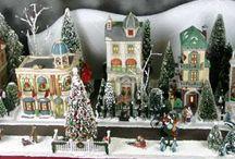 Holidays - Christmas Village / by Nancy Stipa