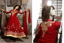 #Aishwarya Sakhuja Designer Long Anarkali Suit / A huge sparkling collection of Indian ethnic wear in our attention-grabbing online showroom whose variety is growing every month. online shopping store for Saree, Salwar Suits, Lehengas, Jewellery, Kids Wear at best price. ## http://goo.gl/Vgjvio