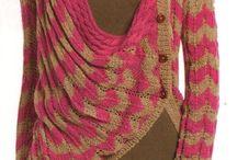 Sweaters / Shawl drape