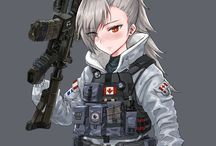 girls soldiers