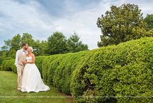 West Manor Estate Wedding   Virginia / West Manor Estate in Forest, Virginia was the perfect wedding venue for this gorgeous bride and groom. Their wedding colors were navy blue, silver and gold.