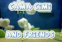 HdG Kids / Channel Youtube Cantika & Kayyisa Learning and Playing with Puppets and Friends