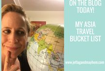 Travel Bucket List / All the places I dream of visiting!