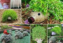 hedge hogs plastic bottles