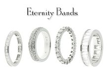 Wedding Bands / Platinum & Gold bands with all sizes and shapes of diamonds.