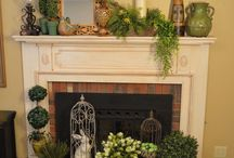 Fireplace makeover idead