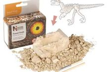 Dinosaur and Fossil Excavation Kits / Dinosaurs and prehistoric animal excavation kits.