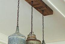 Hang lampen bevestigen