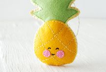 Felt Food - fruit & vegetable