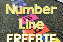 Maths Number Line Resources - Ideas - Numbers 0 -10  11-20   21 -50  51 -100