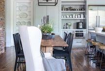 Farmhouse lights kitchen / Kitchen reno
