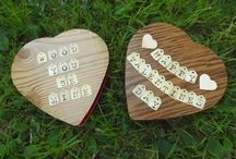 Valentine's Day Gone Green / Low or no cost projects with forest flair for Valentine's Day