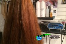 Hair and Lash Extensions Studio / Salon dedicated to Makeovers with hair and lash extensions